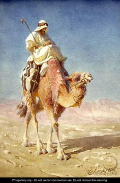 A Bedaween on a Camels Back Painting by Carl Haag Reproduction Art Arabe, Camelus, Egyptian Movies, Arabian Art, Most Famous Paintings, Back Painting, Native Art, Islamic Art, Oeuvre D'art