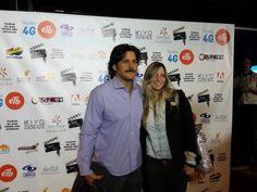 @ROBERTO_CANO @soydivarosa en el lanzamiento de jurados para @smartfilmsco #CineEnTusManos #MóvilesETBFilms
