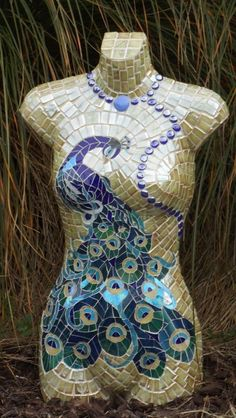 paper cuts mosaic peacock - Google Search | Peacock inspired ...