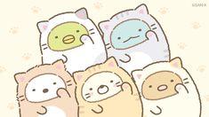 すみっコぐらし Cute Animal Drawings Kawaii, Kawaii Drawings, Kawaii Doodles, Kawaii Art, Sumiko Gurashi, Cool Art Drawings, Animal Sketches, Kawaii Wallpaper, Cute Pokemon