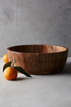 Acacia Serving Bowl - anthropologie.com