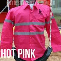 """www.cutiesbyzootys.com.au Every farm needs a CEO in Training and these shirts are specially tailored to keep all the """"Mini Me"""" Farmers safe and visible while ploughing, planting or even mustering! These 100% Cotton shirts are the perfect addition to any wardrobe."""