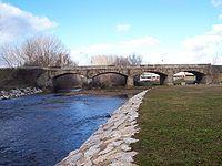 Puente de la Molinería sobre el río Tuerto. San Justo de la Vega