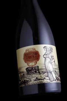 Epistem Wine by Stranger & Stranger, via Behance #taninotanino #vinosmaximum