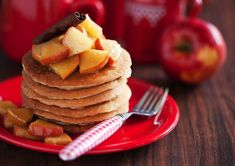 Cutting Carbs?. Instead of using boxed pancake mixes that pack anywhere from 25 to 33 grams of carbs for only a third of a cup, simply mix eggs (or egg whites) along with coconut flour or almond flour. Add in your favorite fruit, too, and you have just made a stack of sweet, delicious, low-carb pancakes.
