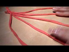 Trenza multiusos 5 cabos trapillo - YouTube