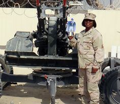 Flat Blue Devil visits a Duke employee serving in U.S. Navy Reserve in Kuwait