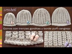 Crochet Puff Stitch Loop – Scarf for beginners and intermediates – Star Pattern Puff Stitch Crochet, Crochet Cap, Crochet Beanie, Love Crochet, Crochet Stitches, Knitted Hats, Crochet Patterns, Crochet Crafts, Crochet Projects