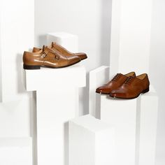 Monks and brogues in warm, spring browns. #monkshoes #brogues #genuineleather#conhpol #shoes #elegant