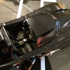 Interior View of the 1989 Batmobile by Martin's Models.