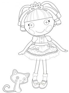 lalaloopsy coloring pages lalaloopsy coloring pages 145 free print inspiration - Lalaloopsy Coloring Pages