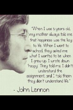 John Lennon. 1940-1980 You may say I'm a dreamer, but I'm not the only one...