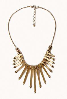 Arrow Fringe Necklace | FOREVER21 - 1062054391