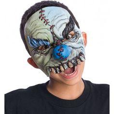 Demi masque enfant P.V.C. Sourire d'horreur