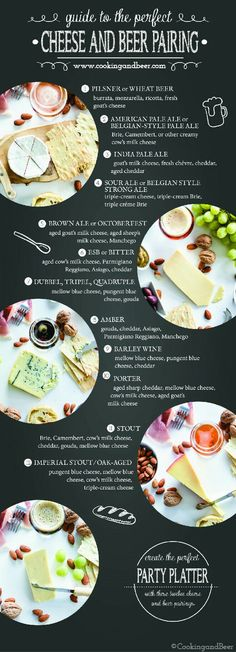 Guide to Beer and cheese pairings