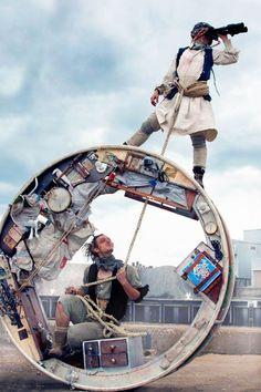 Wheel House – Voir le monde dans une maison circulaire