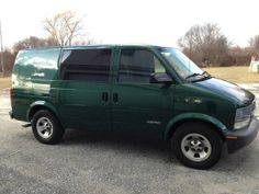 2001 Chevy Astro Cargo Van - 70K miles. Chevy Astro Van, Cargo Van, Vans, Vehicles, Van, Car, Vehicle, Tools