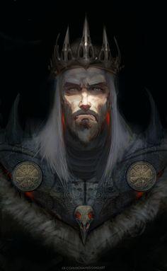 danddartfan: [OC] the old crow king Source:. danddartfan: [OC] the old crow king Source:. Dark Fantasy Art, Fantasy Male, Fantasy Kunst, Fantasy Rpg, Fantasy Artwork, Medieval Fantasy, Fantasy Character Design, Character Design Inspiration, Character Concept
