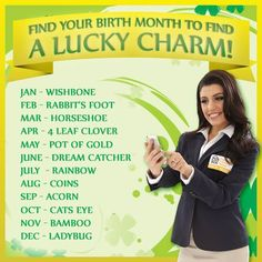 PCH on Twitter says........ @PCHDanielle is here to help you find your lucky charm!