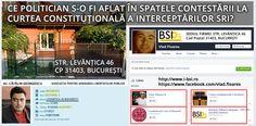 INTERCEPTARILE SRI LA CCR - CE MAFIOT DE POLITICIAN O FI INSTRUMENTAT CONTESTAREA LA CURTEA CONSTITUTIONALA A INTERCEPTĂRILOR FĂCUTE DE SRI?