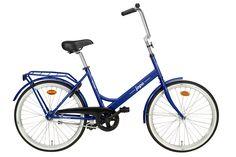 Jopo 24'' 1-v, #blue finnish #bicycle #city_bicycle, by Helkamavelox (www.helkamavelox.fi)b