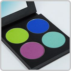 4-color luxury eyeshadow collection in a mirrored palette. Colors: Mochi, 2AM, Acidberry, Velocity From the Addicted to Pretty collection. A $48 value! Net Wt. 4 grams / .14 oz. × 4 $34.00