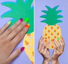 Forget the sand and sun — these 14 beach-themed manis will put you in a summer-state-of-mind in no time!