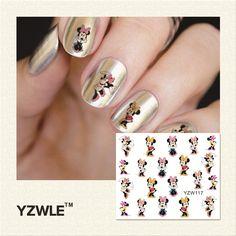 $0.11 (Buy here: https://alitems.com/g/1e8d114494ebda23ff8b16525dc3e8/?i=5&ulp=https%3A%2F%2Fwww.aliexpress.com%2Fitem%2F2016-Hot-Sale-Water-Transfer-Nails-Art-Sticker-Manicure-Decor-Tool-Cover-Nail-Wrap-Decal-CQL0017%2F32621406342.html ) YZWLE Water Decal Nail Water Transfer Cartoon Designs Nail Sticker Stamping For Nail Art Stamp for just $0.11