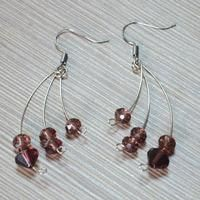 An Easy Instruction of Making Fashion Earrings with Memory Wire and Beads
