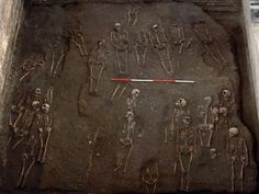 Medieval graveyard unearthed below Cambridge University  Over 1, 000 sets of human remains have been discovered underneath St. John's College at University of Cambridge in what was once a medieval graveyard.