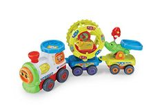 VTech  Baby Toot-Toot Animals Train Toy Welcome to the busy Toot-Toot Animals Train! Theres so many exciting places to travel to! This fun play set is bundled with one Toot-Toot Animals SmartPoint Hamster and (Barcode EAN = 3417761927038) http://www.comparestoreprices.co.uk/december-2016-6/vtech-baby-toot-toot-animals-train-toy.asp