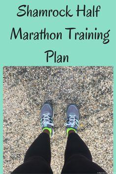 Courtney shares her Shamrock Half Marathon Training Plan - what is your go to training plan for half marathons?