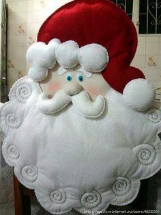 Santa Cláus Imagen Que se puede utilizar para Cubresillas