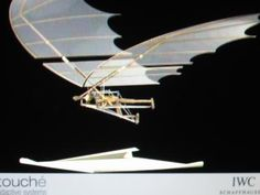 Leonardo da Vinci machines - flying machine
