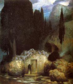 Ferdinand Keller, le tombeau de Böcklin