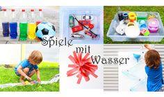 DIY Summer Water Activities for Kids Diy Game, Toddler Videos, Garage Gym, Water Activities, Potpourri, Kids And Parenting, Baby Room, Kindergarten, Crafts For Kids