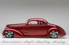 1937 Chevy Coupe Top 5 America's Most Beautiful Street Rod 2008 Built by Kindig-it Design