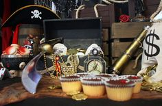 Ahoy Mate! Pirate Themed Dessert Table Birthday Party | Baby Lifestyles