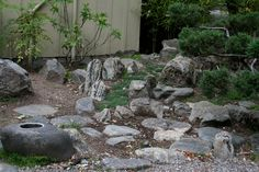rock gardens pictures | In addition to the grounds, which strike a balance between formal and ...