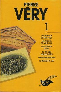 Les Intégrales du Masque - Pierre Véry - Volume 1 - Recto - Mai 1992