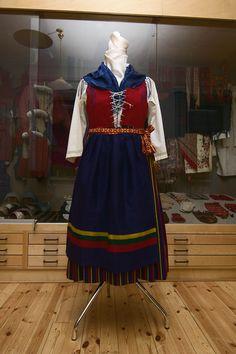 Ingå folkdräkt/Inkoon kansallispuku/Ingå folk costume. Finn-Swedish. Photo: Linda Varoma Folk Costume, Costumes, 7 Continents, Folklore, Traditional Outfits, Finland, Evolution, Culture, History