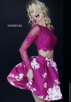 Absolutely Charming Sherri Hill Short Dress 32323 - Love how it has a modern look but without looking slutty.