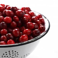 1 Cup of Cranberries = A Total Immune System Booster. We Love 'Em Mixed In A Salad
