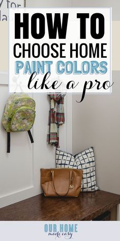 The Easiest Way to Choose a Whole Home Color Scheme is part of Home Accessories Decor Paint Colors - Wondering how to choose paint colors This is the easiest trick to creating a whole house color scheme every time! Dark Paint Colors, Interior Paint Colors, House Color Schemes, House Colors, Blue Living Room Sets, Split Complementary Colors, Do It Yourself Home, Room Paint, Colorful Interiors