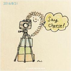 """namiharinezumi: """" 946 はい、撮りますよ〜! Say cheese! """""""