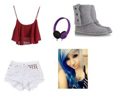 """""""Untitled #34"""" by chrissy-ticci-123 ❤ liked on Polyvore featuring Skullcandy and UGG Australia"""