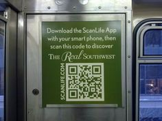 The Real Southwest QR Code