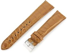 Artisan of Italy AITPD600-0420MR Men's Dress Padded Matte Alligator 20mm Honey Watch Strap ** To view further for this item, visit the image link.