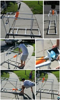 DIY PVC Water Balloon Catapult-20 PVC Pipe DIY Projects #ForKids #Game