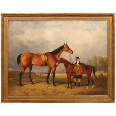 Sporting Painting Manner of William Barraud   From a unique collection of antique and modern paintings at http://www.1stdibs.com/furniture/wall-decorations/paintings/